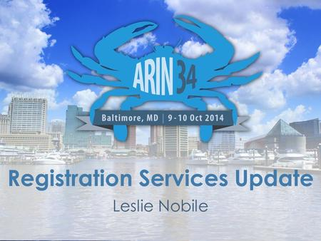 Registration Services Update Leslie Nobile. Current RSD Staff Total of 8 analysts currently – Cathy Clements, Principal Resource Analyst – Jon Worley,