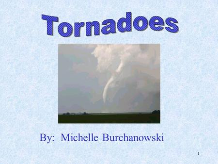 1 By: Michelle Burchanowski 2  Twisters  Funnel cloud  Waterspout Tornado Nicknames.