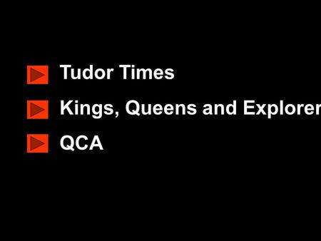 Www.ks1resources.co.uk Tudor Times Kings, Queens and Explorers QCA.