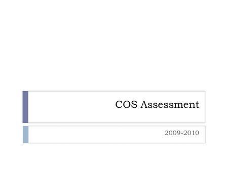 COS Assessment 2009-2010. COS Research Expenditures (x1000) per FTE T/TE Faculty compared to National Averages AnthBioChemComMathPhysPolSciPsySocStats.