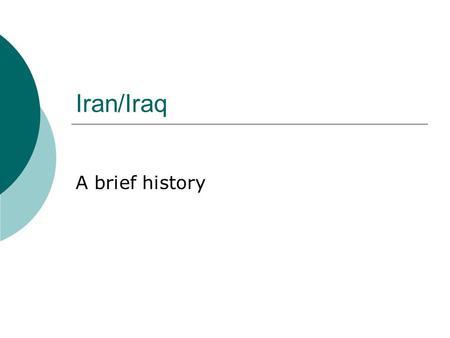 A Brief History of 20th-Century Iran
