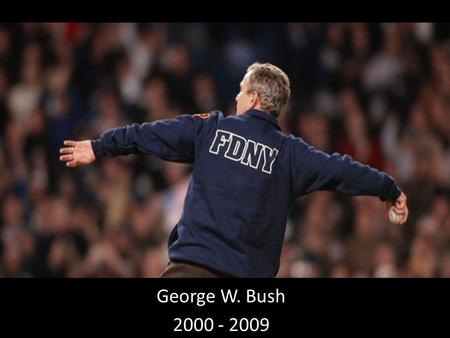George W. Bush 2000 - 2009. The Election of 2000 A.K.A. – Days of Our Lives Vote differentials in several states are exceedingly close, with the Democratic.