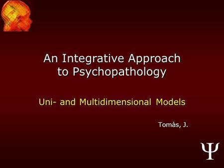 behavioural approach to psychopathology essay