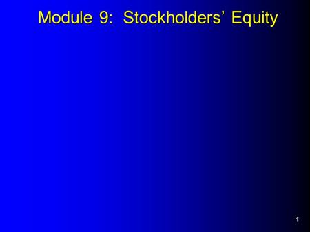 Module 9: Stockholders' Equity 1. 2 2. TS Example -Journal Entries Feb: repurchase 10,000 $7 = $70,000. July: reissue 2,000 $ 8 = $16,000 (cost.