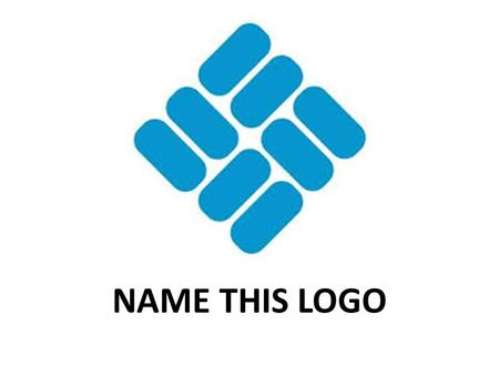 NAME THIS LOGO.