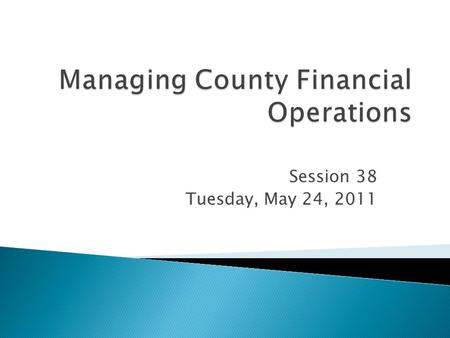 Session 38 Tuesday, May 24, 2011.  Bob Casey  Extension Auditor  Kansas State University  Jeff Bassford  Business Officer  University of Nebraska.