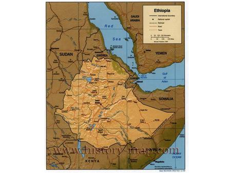 Ethiopia is a country located in what is often called the Horn of Africa.