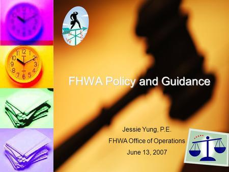 FHWA Policy and Guidance
