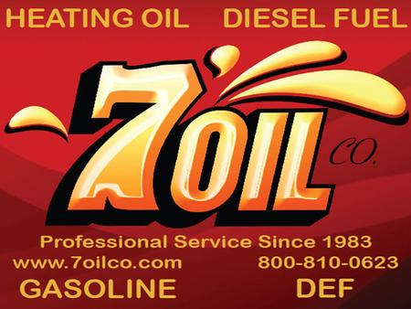 Welcome to 7 Oil Company, Inc ! 7 Oil Company is fully committed to the satisfaction of every one of our valued clients. We've been in business over 30.