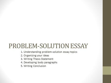 Essay Proposing A Solution Essay Topics Image   Resume Template     FAMU Online Essay topics