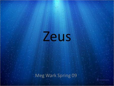 "Zeus Meg Wark Spring 09. OMEX ""Odyssey Marine Exploration has pioneered a new branch of archaeology, which we call ""commercial marine archaeology,"" defined."