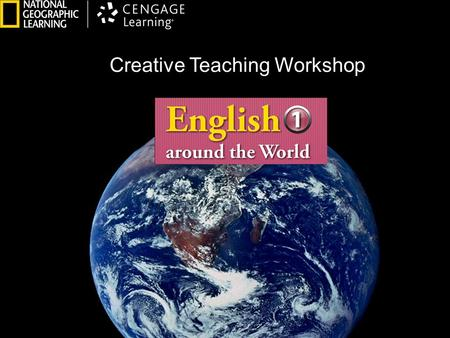 Creative Teaching Workshop. My  Address