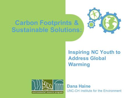 CARBON FOOTPRINT. REMEMBER THE CARBON CYCLE… LIST THE ...