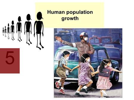 5 Human population growth. This lecture will help you understand: Human population growth Demography Affluence, technology, the status of women, and the.