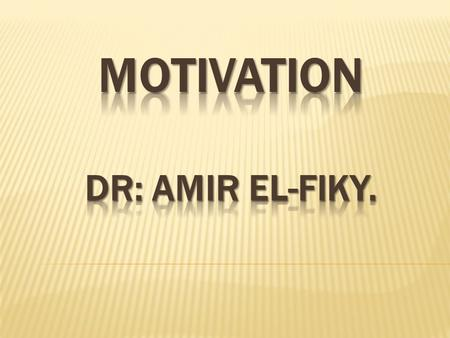 Definition: Motivation is defined as the process that initiates, guides and maintains goal-oriented behaviors. Motivation is what causes us to act, whether.