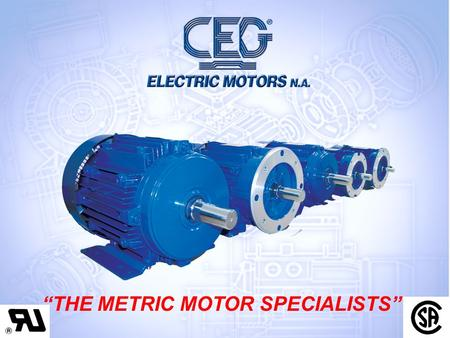 "CEG NORTH AMERICA ""THE METRIC MOTOR SPECIALISTS""."