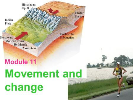 Module 11 Movement and change.