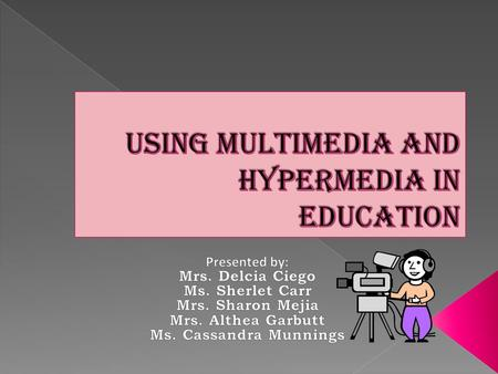  Multimedia involves animation, photographs, motion videos, sound, or text items.  Information is connected with hyper text links from around the.