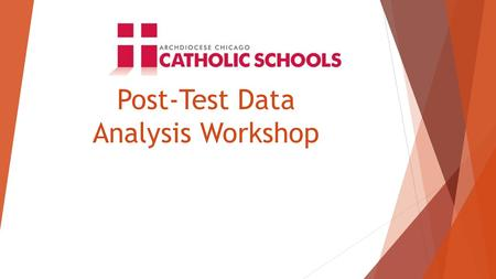 Post-Test Data Analysis Workshop. Agenda I. Analyze 2014 TerraNova Results II. Comparative Data Analysis: TerraNova & Explore Test Results III. Using.