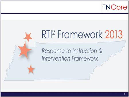 0 1 2 Required Elements: Universal Screening Tier I Tier II and Tier III Progress Monitoring District and School RTI² Teams Fidelity of Implementation.