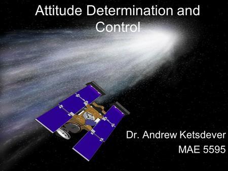 spacecraft attitude determination and control - photo #12