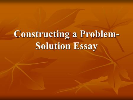 problem solution essay animal extinction