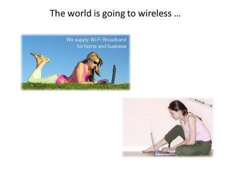 The world is going to wireless …. Wireless Networking Part 2 CCNP Switch Hossein Shamloo.