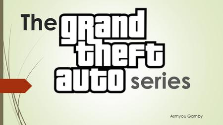 The series Asmyou Gamby. The first GTA Grand Theft Auto is made up of a series of levels, each set in one of the three main cities. In each level, the.