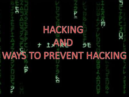 the issues of computer hacking Acting in a timely manner is essential when dealing with the consequences of a hacked computer as soon as you suspect that your computer's security has been compromised, you should assess the damage caused by the computer virus or the hacker and, based on that assessment, either wipe your computer clean or attempt to remove the malicious application using a reputable antivirus program.