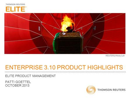 ENTERPRISE 3.10 PRODUCT HIGHLIGHTS