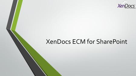 XenDocs ECM for SharePoint. 15 Tips for Bulletproof Requirements Analysis And Documentation SharePoint Requirements Analysis.