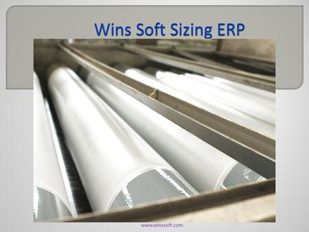 Www.winssoft.com.  Wins Soft ERP System provides the benefits of streamlined operations, enhanced administration & control, superior customer care, strict.