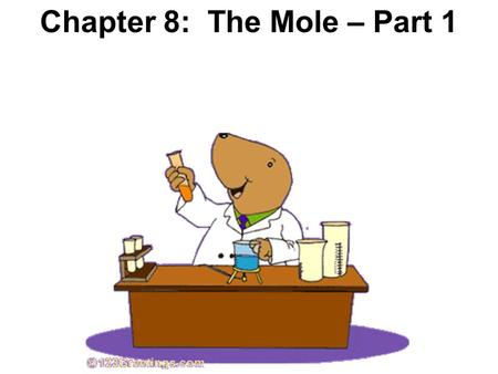 Chapter 8: The Mole – Part 1. What is Avogadro's favorite saying from American History?