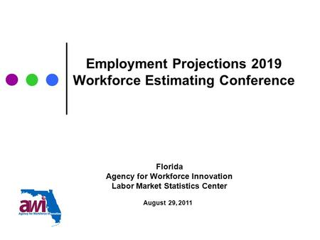 Employment Projections -- General Information