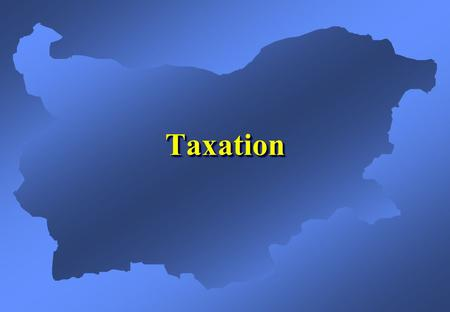 TaxationTaxation. Among the Lowest Taxes in Europe  Corporate tax –23.5% –0% in regions with high unemployment, 1/3 of the country's territory –fast.