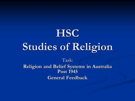 religion and belief systems in australia essay An essay on confucianism: its roots,  under which many people thought the ancient system of religious rule was bankrupt why couldn't the gods prevent the social.