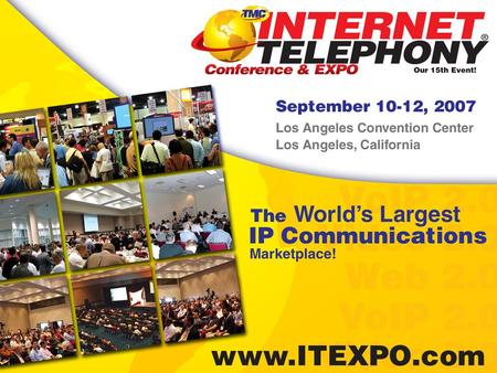 Video Makes Its Way Into the Enterprise David Fridley Sr. Product Manager IP Telephony Solutions Toshiba +1 949 583 3692.