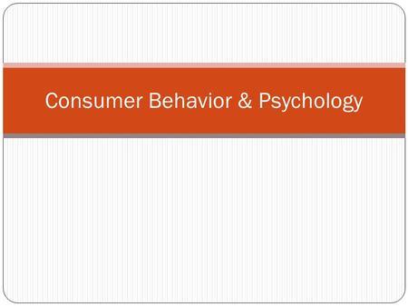 brand equity and consumer buying behaviour The literature review of brand equity and consumer buying behaviour: 1980~ 2014 authors le wang, benjamin addei-duah, wanliang dai, xiaoshu wang.