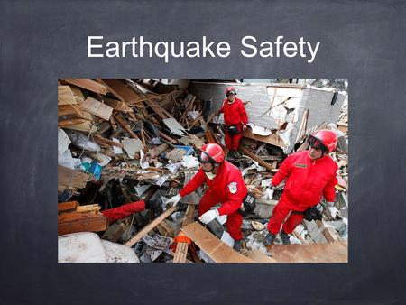 Earthquake Safety. Earthquake Risk Causes of earthquake damage can include: Shaking Liquefaction Aftershocks Tsunamis.