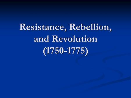 """differences between revolution and resistance in The two revolutions surprisingly had very different outcomes  """"because of [ capitalist] resistance is fairly strong, there will be reversals and."""