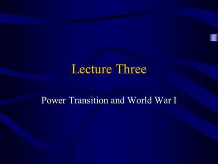 a discussion on the reasons for the outbreak of world war i The outbreak of world war one the end of the franco-prussian war marked the birth of the german empire in europe germany, under the leadership of bismarck, had been transformed from the weakest european power to the strongest.