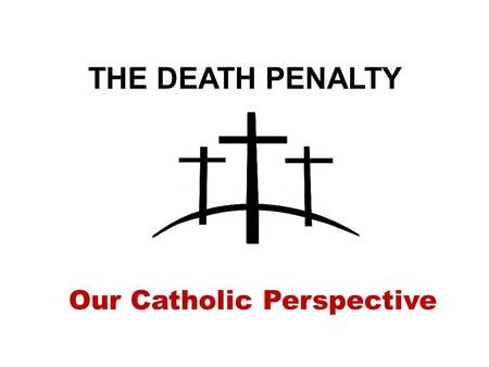 the christian perspective of capital punishment A christian science perspective economy  death penalty is too expensive for states, study finds  the average extra cost of capital punishment is significantly.