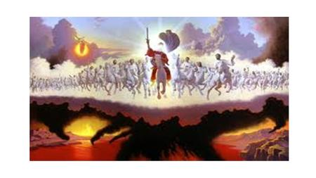 Revelation Chapter 19 1 After these things I heard something like a loud voice of a great multitude in heaven, saying, Hallelujah! Salvation and glory.