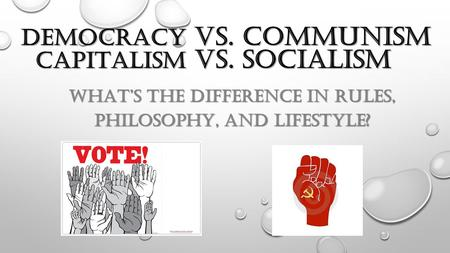 Democracy vs. Communism