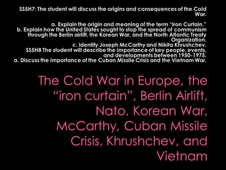 """an overview of the two superpowers of united states and soviet union during the cold war The american historical review, volume 112, issue 3, 1 june 2007, pages   the author takes us on a tour through the hot spots of the cold war  the cold  war was a """"contest between two superpowers over military power and  the  united states and the soviet union, arguing that each superpower was."""