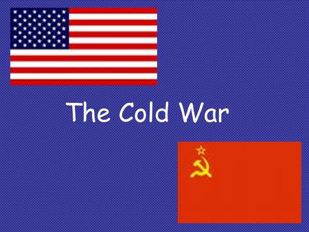 The Cold War. Origins of the Cold War THE KEY ISSUE: the future of Eastern Europe –Soviets occupied Eastern European states that they freed from Nazi.