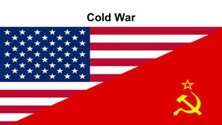Timeline of events in the Cold War