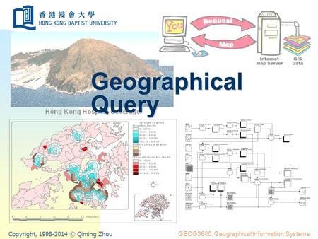 Copyright, 1998-2014 © Qiming Zhou GEOG3600. Geographical Information Systems Geographical Query.
