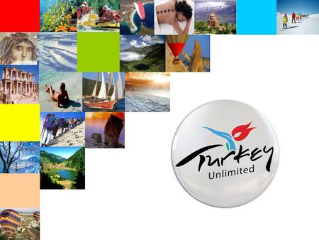 AGENDA Tourism in Numbers Success Story Treasures <strong>of</strong> Turkey Branding Turkey Our achievements.