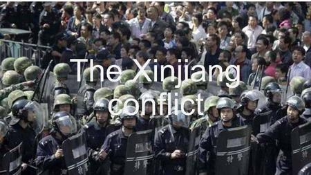 The Xinjiang conflict. The Xinjiang conflict is an ongoing separatist struggle in the People's Republic of China (PRC) far-west province of Xinjiang.